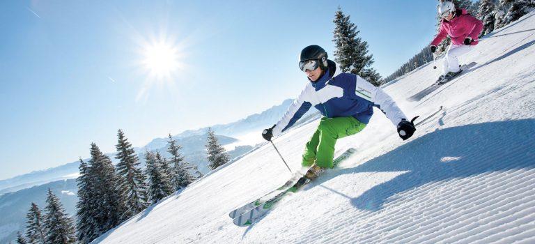 Sciare sotto il sole di primavera!